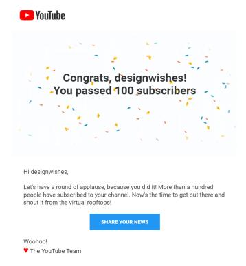 YouTube100