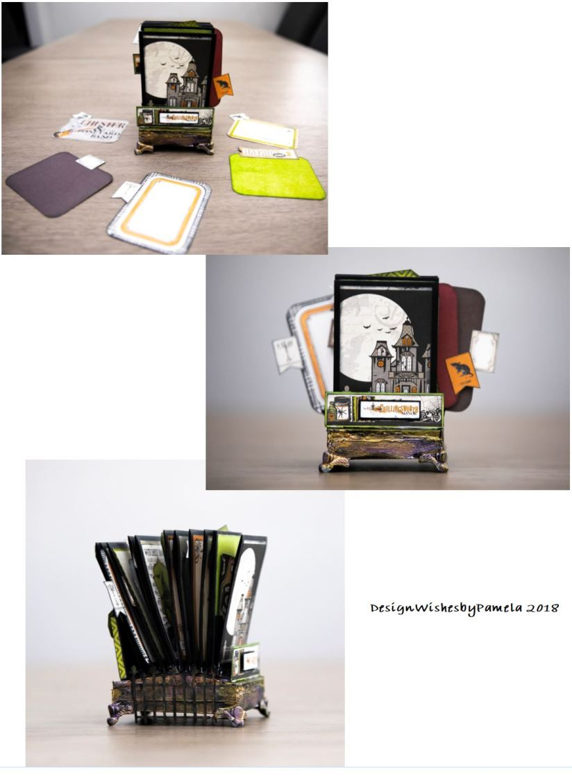 EchoPark Paper Co. - Chillingsworth Manor Flip Album(designwishesbypamela)