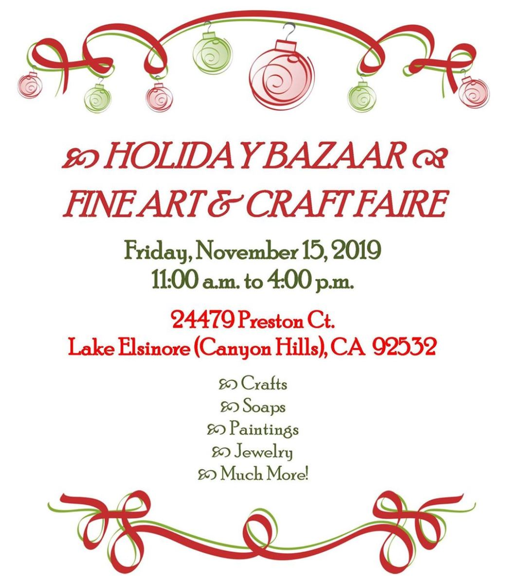 11.15.19HolidayCraftFaire